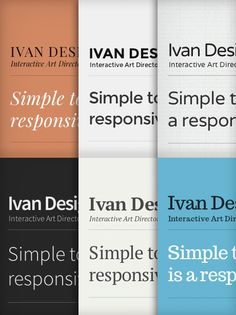 Simple to set up and super-customizable, Type & Grids is a responsive HTML5 template with nice typography