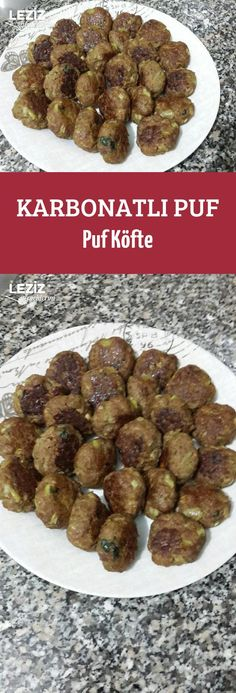 Karbonatlı Puf Puf Köfte