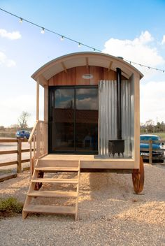 Having a good look around our new show hut will give you a really good idea of the size and quality of our shepherd's huts.
