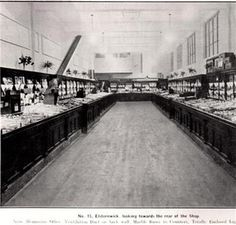 , Eight black and white photographs of interior and exterior of Elsternwick Coles store at various times, two dated 1947 and one dated others undated, Melbourne Victoria, Victoria Australia, Variety Store, Historic Homes, Historical Photos, Old Photos, Interior And Exterior, Victorian, Black And White