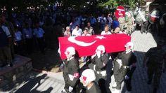 Malatya'lı Şehit Son Yolcuğuna Uğurlandı