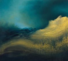 Abstract Paintings of Oceanic Waves