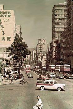 1966 Nathan Rd, Yau Ma Tei, Hong Kong 油麻地 彌敦道 (old photos of Hong Kong). Ppcv