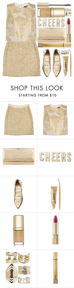 """""""Dance Party!"""" by grozdana-v ❤ liked on Polyvore featuring Kate Spade, Chi Chi, Jimmy Choo, Stuart Weitzman, tarte, Dolce&Gabbana, Boohoo, Burberry, Kevyn Aucoin and danceparty"""