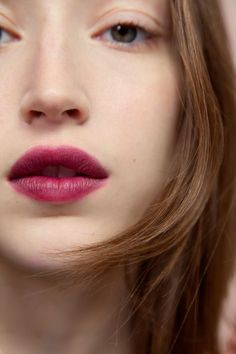 Rich Pink Matte Luscious Lips