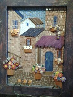Make a mosaic using a picture from a town in an area we visited. Ie. Italy or Ireland or Greece.