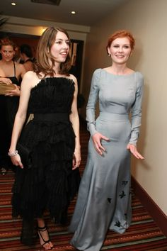 Sofia Coppola and Kirsten Dunst Sofia Coppola Style, Kirsten Dunst, Lucky Star, Bridesmaid Dresses, Wedding Dresses, Style Icons, Dress Up, Glamour, Formal Dresses