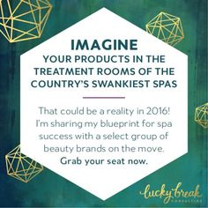 I've been working intimately with spas for more than a decade and my Bella Lucce brand is sold through more than 1300 spa properties worldwide, from the Trump Soho in New York City to the Armani Hotel in Dubai. I've built a 7-figure spa brand from scratch and in this class, I share specialized techniques + strategies that I developed, each of which will empower you to intuitively serve spa managers with more elegance and ease.