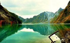 Mt. Pinatubo, Philippines. Even though I've already been there haha.