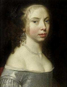 Portrait of a Lady, Circle of Adriaen Hannemann (The Hague 1604-1671)