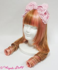 Dolly Pearlカチューシャ  3,888 yen / $35  4 colors available