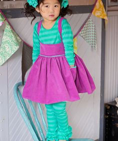 DreamSpun Orchid Jitterbug Jumper - Toddler & Girls | zulily