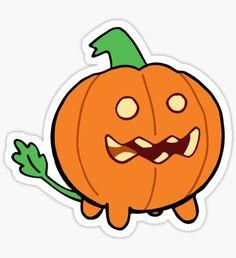 """""""Steven Universe Pumpkin"""" Stickers by joeredbubble Steven Universe Peridot, Steven Universe Tattoos, Steven Universe Stickers, Cartoon Stickers, Tumblr Stickers, Cool Stickers, Printable Stickers, Laptop Stickers, Kawaii Doodles"""