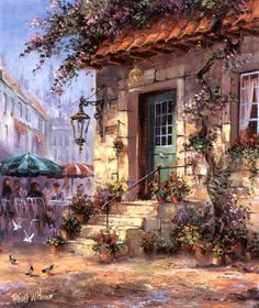 Beautiful Country Side Paintings by Reint Withaar