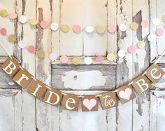 Bridal Shower banner,Bachelorette, bridal shower decor, Bride to be banner, wedding banner, bridal shower, party banner, wedding banners