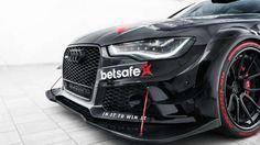 A ideia foi de Jon Olsson, o esquiador profissional sueco adepto de carros potentes. Uma verdadeira loucura sobre esquis…