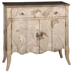 """Check out the Pulaski 549225 36""""W 1 Drawer Accent Chest in Painted Natural/Brown"""