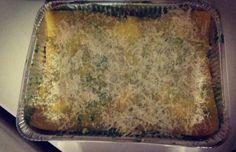 Lasagna con crema di cime di rapa e salsiccia. ....I love my daughter!!! #kialacamper #kialaathome #yummy #delish #delicious #eating #foodpic #hungry #lasagna #vegetables #sausage #mozzarella
