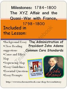 1000 images about the early years on pinterest george washington john adams and xyz affair. Black Bedroom Furniture Sets. Home Design Ideas