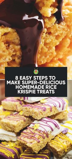 Delicious and easy ways to make Rice Krispie Treats, a Rice Krispie cake as well as a few other tasty temptations. Think peanut butter and chocolate...