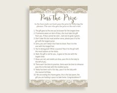 Pass The Prize Bridal Shower Pass The Prize Burlap And Lace Bridal Shower Pass The Prize Bridal Shower Burlap And Lace Pass The Prize NR0BX #bridalshower #bride-to-be #bridetobe