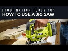 How to use a Jig Saw! Awesome info on a super versatile #DIY tool.