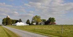 The Crow Farm & Winery, green, eco-friendly wedding venue and farmstay B on the Eastern Shore of Maryland. http://www.crowfarmmd.com/vintage-farm-weddings