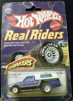 Hot Wheels Real Riders Dodge D-50 NRFP