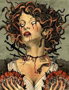 Medusa Hair, Medusa Gorgon, Medusa Tattoo, Jean Tinguely, Celine, Female Monster, Religion, Turn To Stone, Grey Art