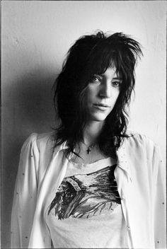 Patti Smith, 1970 Photography by James Hamilton