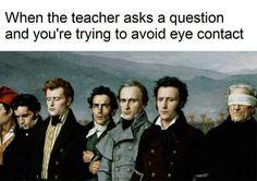 When The Teacher Asks a Question - Imgur
