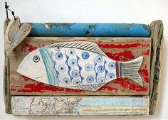Big Fish of Robin Hoods Bay - Shirley Vauvelle