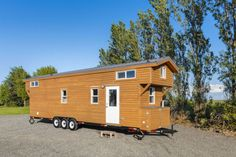 34ft Custom Loft Edition Tiny #House on Wheels https://blogjob.com/tinyhouseblogs/2017/10/09/34ft-custom-loft-edition-tiny-house-on-wheels/