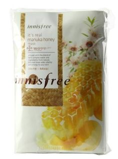 KOREAN COSMETICS, Innisfree, It's real Manuka honey mask 10 sheets.(Rehydration, nutrition, highly enriched essence)[001KR] by Innisfree. $24.00. Item location : Korea and we ship to worldwide. KOREAN COSMETICS, Innisfree, It's real Manuka honey mask 10 sheets.(Rehydration, nutrition, highly enriched essence)[001KR]. Note to the first users : If you have  not used this item before, try the cosmetic with small amount on your skin. If you find any trouble with the product...