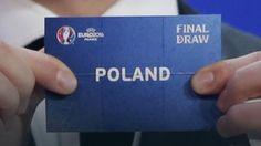 Euro 2016: Polacy zagrają w grupie z Niemcami, Ukrainą i Irlandią Północną