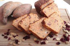 Zoete aardappel proteïnebrood