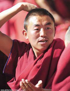 Monks at Drepung Monastery, Lhasa, TIBET