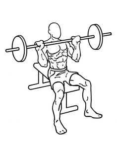 Barbell Shoulder Press 1