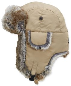 Woolrich Nwt Trapper Hat Beige Bomber Faux Fur Lined Winter Sz Medium Bomber Hats Mens Winter Gear, Toe Warmers, Trapper Hats, Hats Online, Winter Accessories, Hats For Men, Caps Hats, Faux Fur, Winter Hats