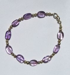 Handmade Purple Amethyst and Sterling Silver by FLauraChristine