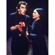 Judi Dench and Ian McKellen in Trevor Nunn's 1976 production of Macbeth