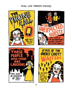 Hilarious new book: A Worrier's Guide to Life by illustrator Gemma Correll