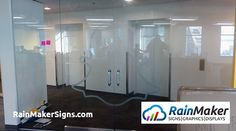 Frosted Window, Office Branding, Window Graphics, Retail Space, Snapchat, Seattle, Windows, Signs, Projects