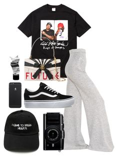 """""""///"""" by mimiih ❤ liked on Polyvore featuring STELLA McCARTNEY, Vans, Aesop and Gucci"""