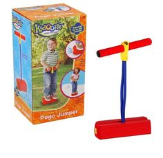 Kids Sports Games Foam Pogo Jumper Fun Active Safe School Outdoor Red 250 Lbs #Kidoozie