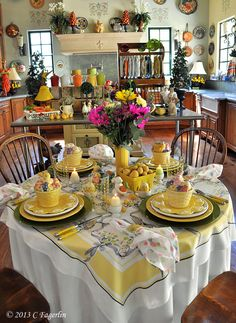 What's going on your Easter table?                                             Thanks for stopping by!