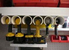 Organização e reciclagem de Ferramentas