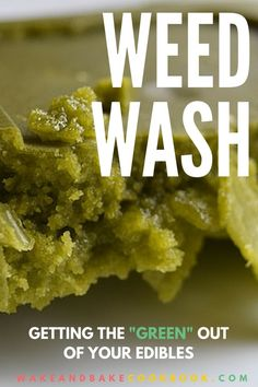 "How to make canna butter taste less ""weedy"""