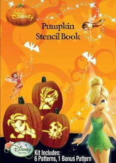 Paper Magic Group Disney's Fairies Stencil Book, Pack of 24 by Paper Magic Group. $58.99. Contains: 7 stencil patterns. Comes in pack of 24. Officially licensed product. From the Manufacturer                Add some uniqueness to your pumpkin with this officially licensed Disney Fairies stencil book. Some of the characters include Tinker Bell and some of her friends from Pixie Hallow. Includes 7 stencil pattern. Includes pack of 24.