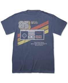 2cea46753b9 Take control of your casual style with this Nes T-shirt from Fifth Sun